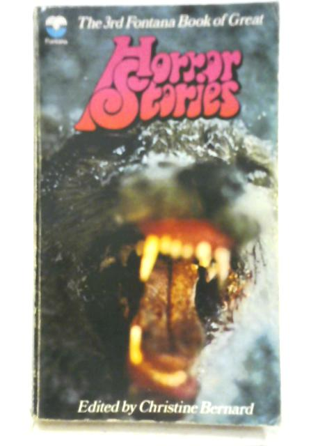 The Third Fontana Book of Great Horror Stories by