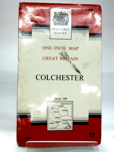 Ordnance Survey One-Inch Map of Great Britain: Colchester Sheet 149 By Ordnance Survey
