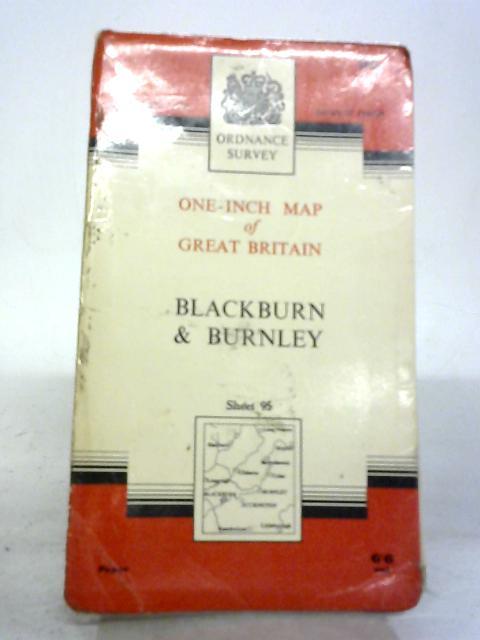 Blackburn & Burnley. Sheet 95 One-Inch Map Seventh Series By Anon