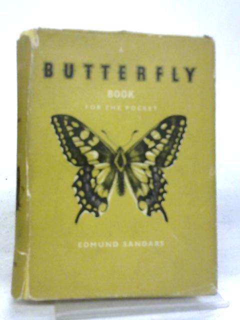 A Butterfly Book For The Pocket By Edmund Sandars