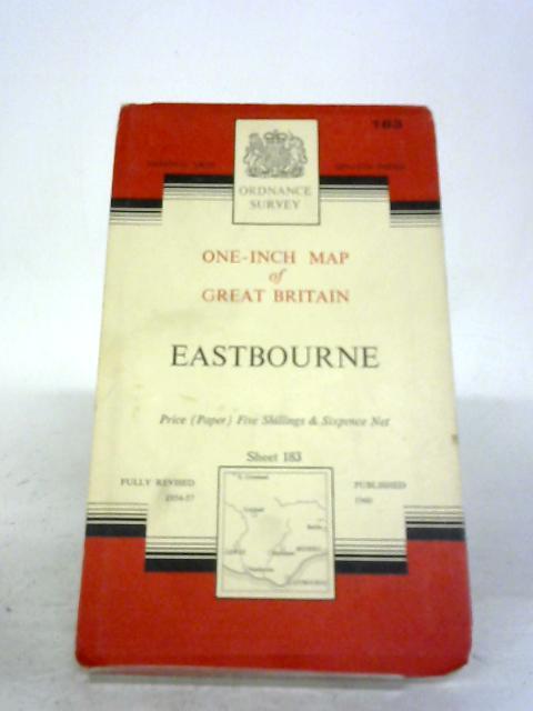 Ordnance Survey Map Of Eastbourne: Sheet 183 By Ordnance Survey