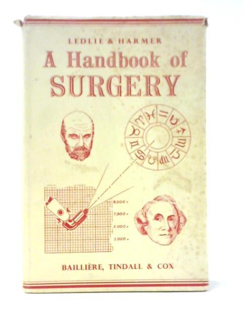 Handbook of Surgery By Reginald C. B Ledlie & Michael Harmer