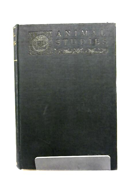 Animal Studies By David Starr Jordan