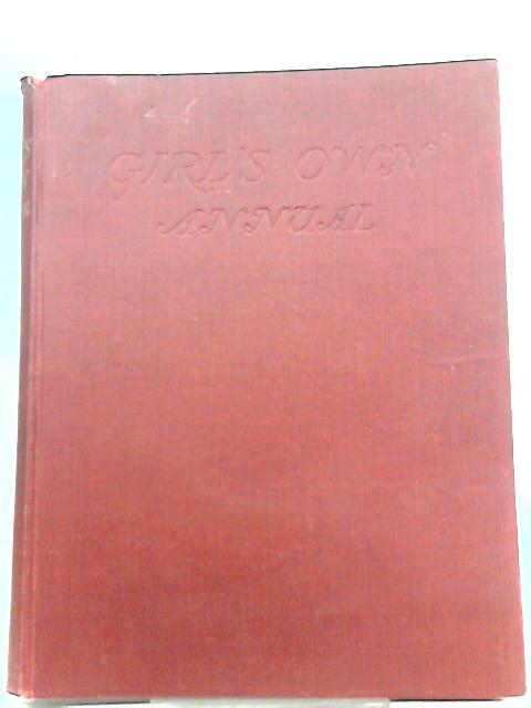 Girl's Own Annual, Volume Sixty - Two By Gladys M. Spratt (Ed.)