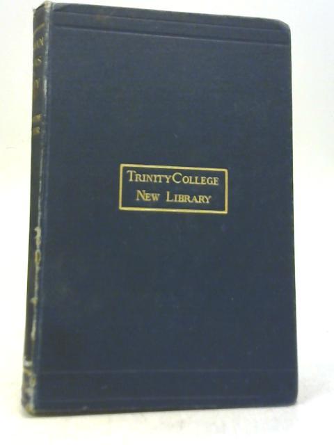 Roman Ideas of Deity By W. Warde Fowler