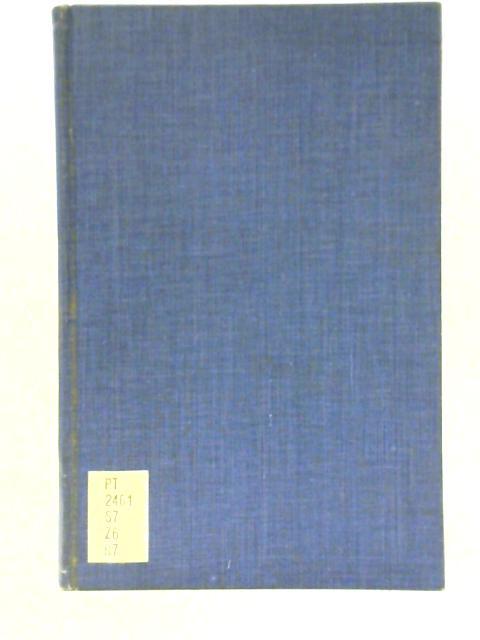 Adolf Friedrich Graf v. Schack. Eine Literarische Skizze By F. W. Rogge