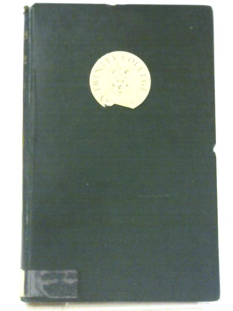 Studies Literary and Historical in the Odes of Horace By Arthur Woollgar Verrall