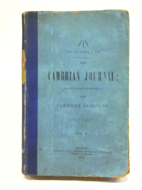 The Cambrian Journal Volume II By multiple