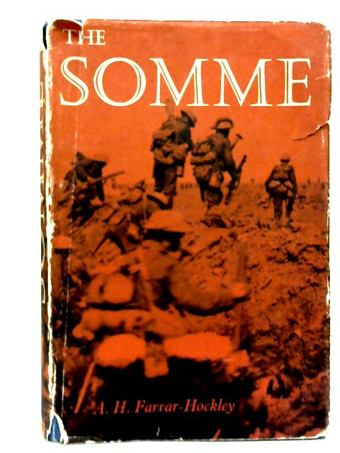 The Somme By Anthony Farrar-Hockley