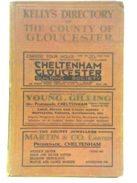 Kelly's Directory of the County of Gloucester 1939
