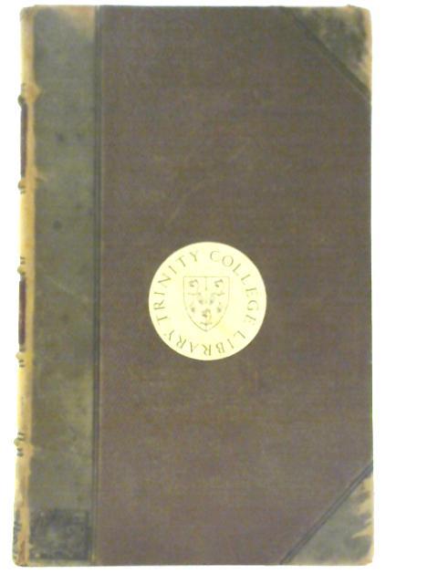 C. Plini Secundi Naturalis Historiae Libri XXXVII - Volume IV By C Plini Secundi, Iulius Sillig