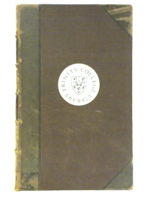 C. Plini Secundi Naturalis Historiae Libri XXXVII - Volume III By C Plini Secundi, Iulius Sillig