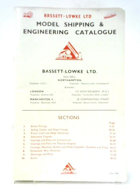 Bassett-Lowke Ltd, Model Shipping & Engineering Catalogue