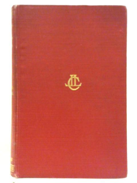 Tertullian, Apology, De Spectaculis By Minucius Felix