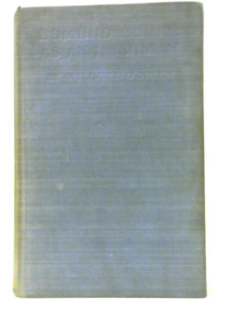 Edmund Burke as an Irishman By William O'Brien