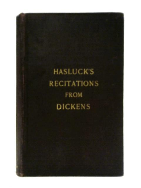 Recitations from Dickens Vol IV By Alice Hasluck
