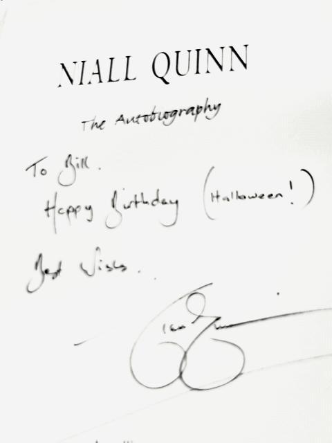 Niall Quinn: The Autobiography By Niall Quinn