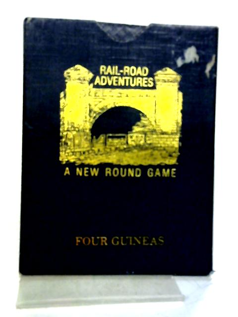 1983 Facsimile of Wallis' The Locomotive Game of Railroad Adventures By Anon
