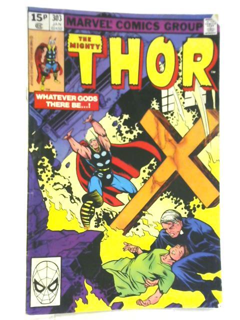 Thor Vol 1 No 303 January 1981