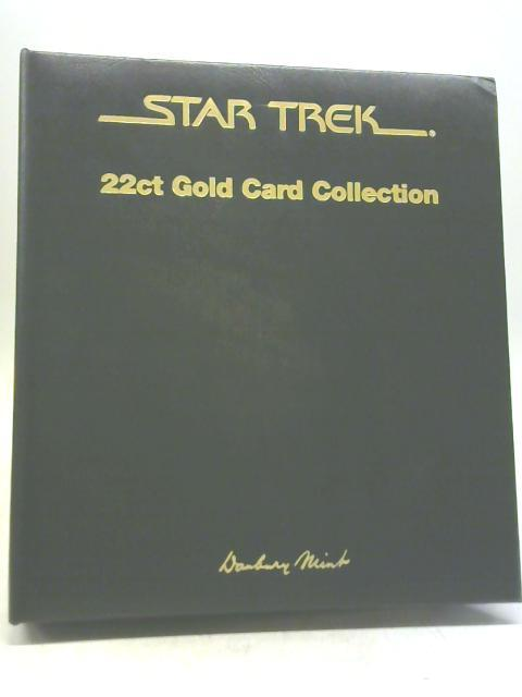 Star Trek 22ct Gold Card Collection by Unstated