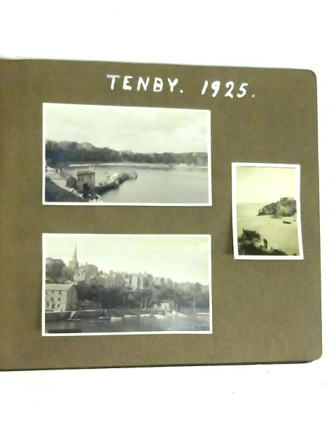 Family Photo Album of Tenby 1925 By Unstated