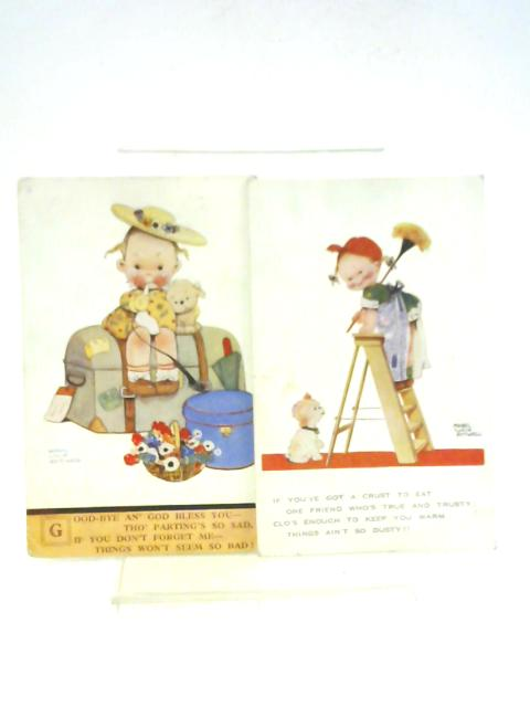 2x Mabel Lucie Atwell Postcards Dated 1928 and 1932