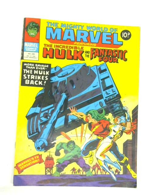 The mighty world of Marvel featuring the Incredible Hulk and the Fantastic Four, no 326, Dec 27 1978 By Anon.