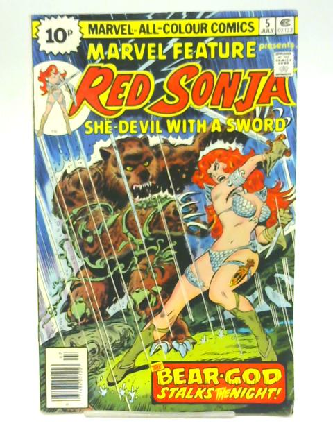 Red Sonja vol 1 no 5 July 1976 By unstated