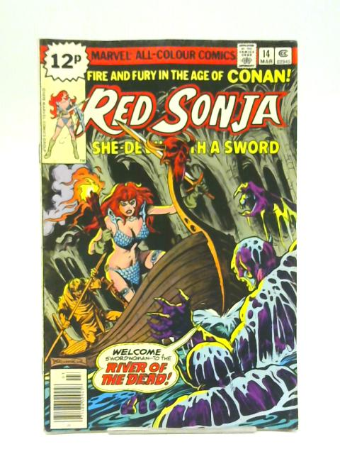 Red Sonja vol 1 no 14 March 1979 By Unstated