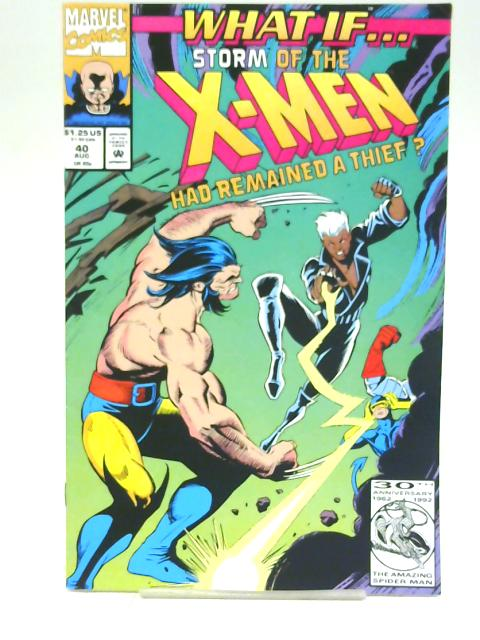 Storm of the x-men vol 2 no. 40 (What if?)August 1992 By multiple