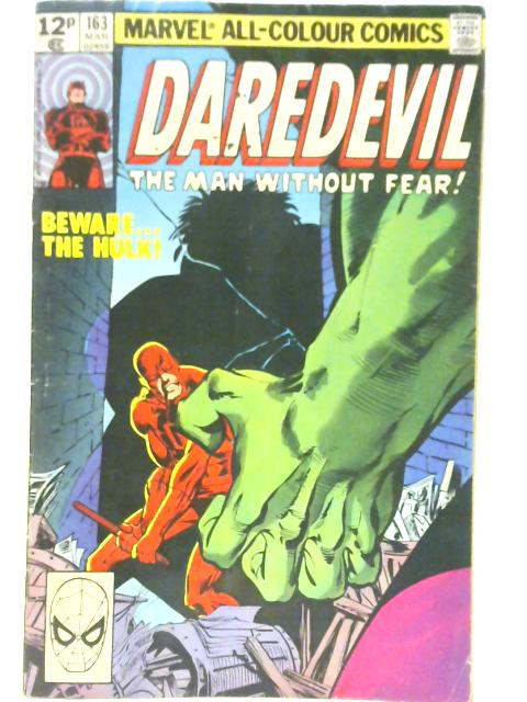 Daredevil #163 By Roger McKenzie & Frank Miller