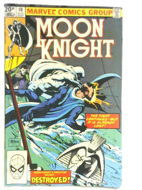 Moon Knight Vol 1 # 10 By Marvel Comics