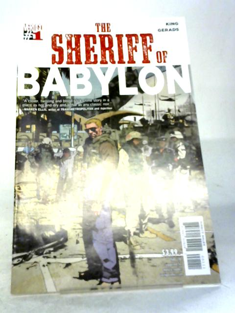 The Sheriff of Babylon #1 By Tom King, Mitch Gerads