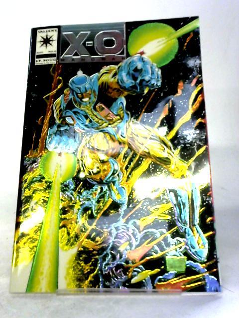 X-O Manowar Vol 1 #0 By Bob Layton & Jorge Gonzalez