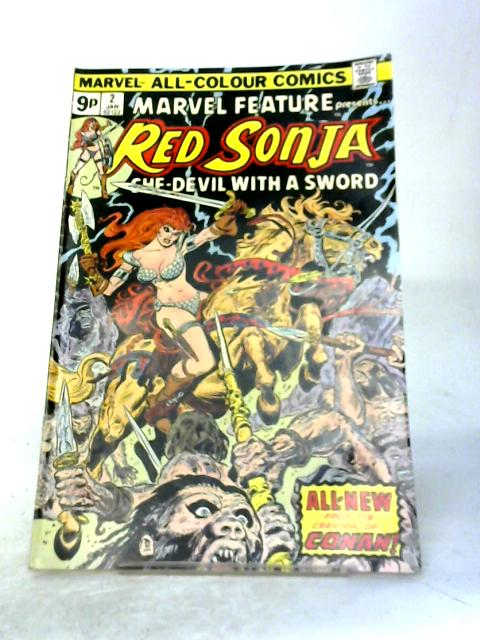 Red Sonja. She-Devil with a Sword Vol 1 No2 By Marvel Comics