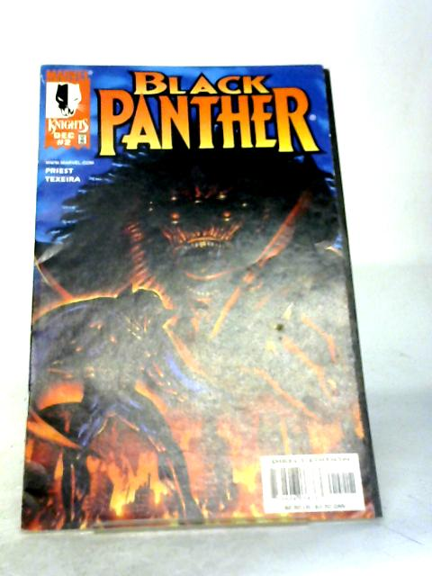 Black Panther Vol 2 No 2 By Marvel Comics
