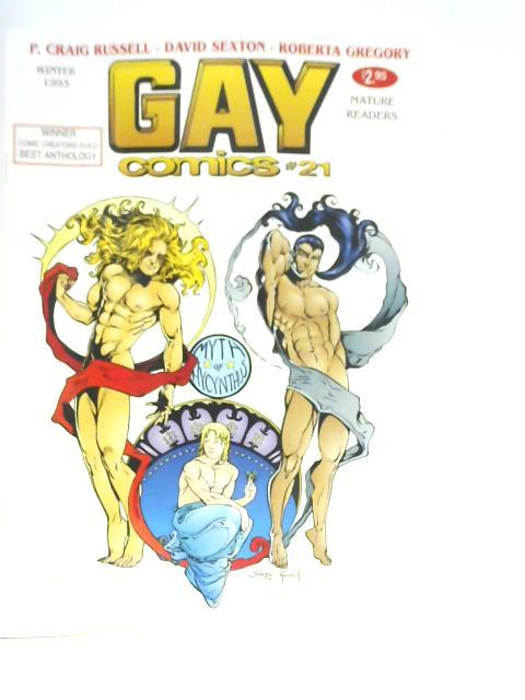 Gay Comics #21 By Bob Ross