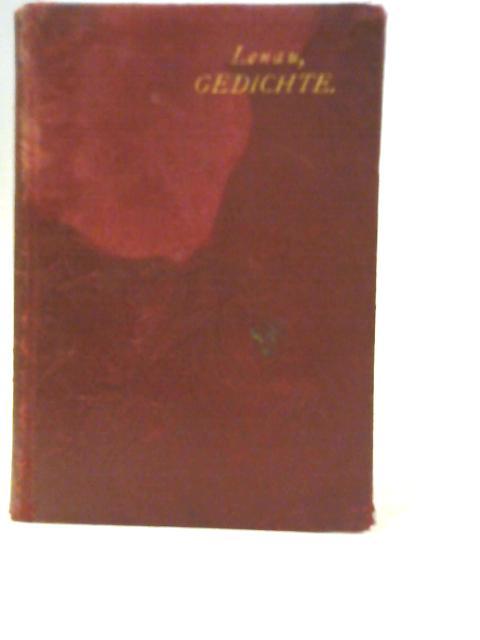 Ausgewahlte Gedichte By Nikolaus Lenau
