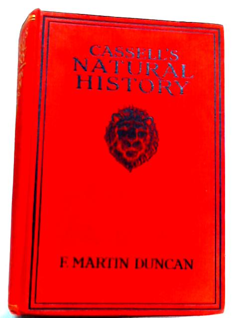 Cassell's Natural History By Martin Duncan