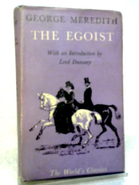 The Egoist: A Comedy in Narrative By Geroge Meredith
