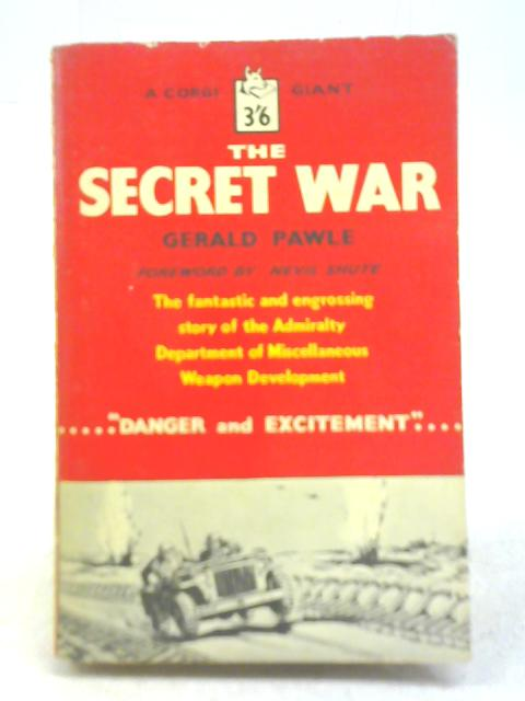 The Secret War By Gerald Pawle