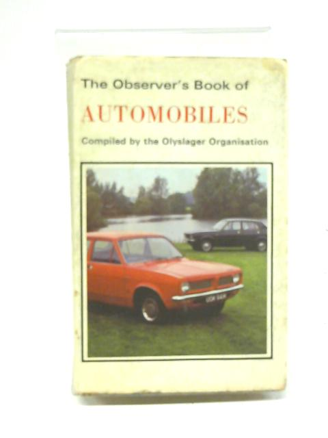 Observer's Book of Automobiles 1972 (Observer's Pocket) By Olyslager