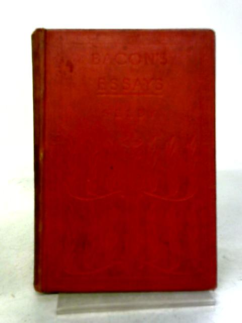 Bacons Essays By F. G. Selby