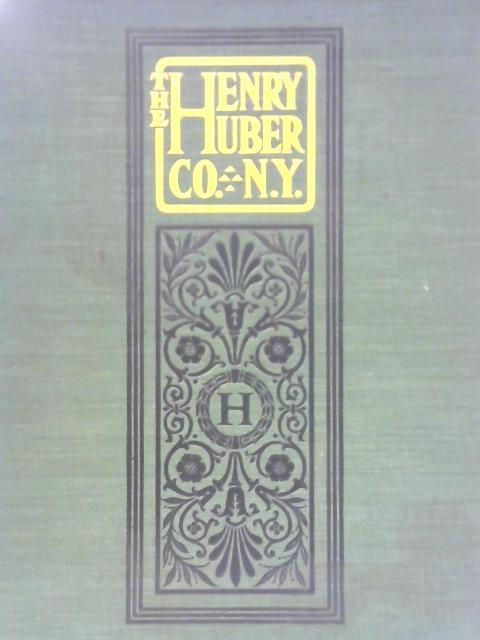 """The Henry Huber Company Sanitary Specialties - Illustrated Catalogue """"D"""" by Unstated"""