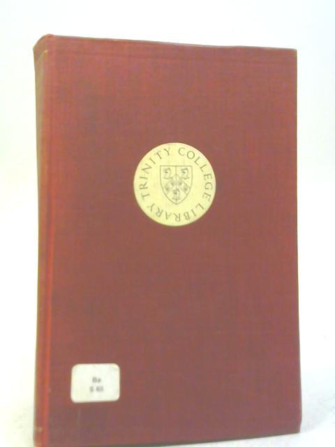Harvard Essays on Classical Subjects By Herbert Weir Smyth