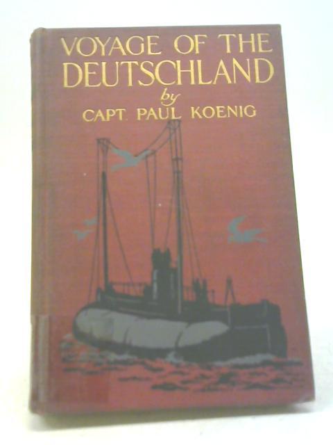 Voyage of The Deutschland By Paul Koenig