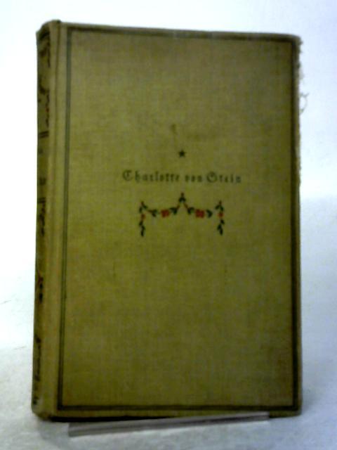 Charlotte Von Stein By Wilhelm Bode