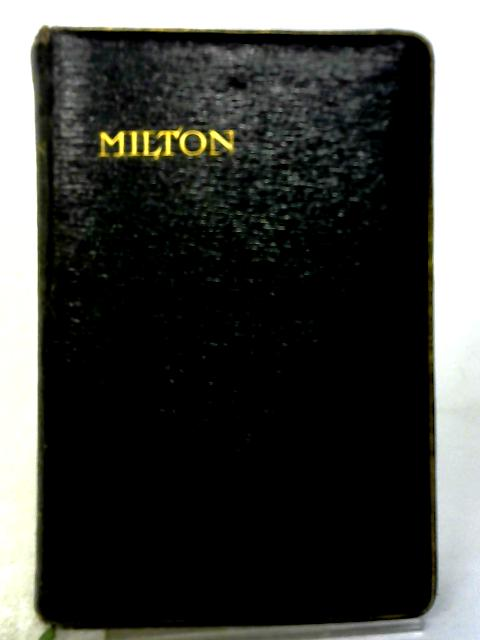 The Poetical Works of John Milton by William Michael Rossetti