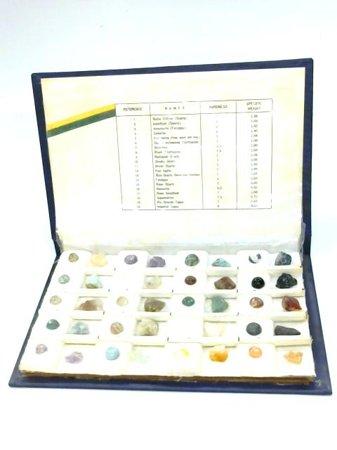 Gems and Minerals from Brazil by Anon
