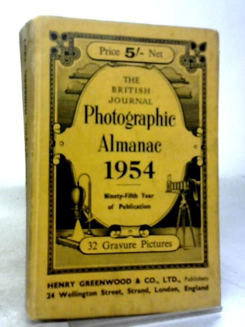 The British Journal Photographic Almanac 1954 32 gravure pictures By Various